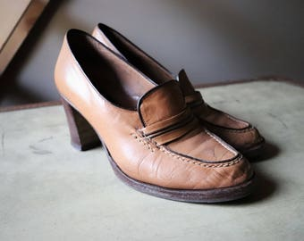 Shoes woman moccasin Made in Italy heel Shoes Lady top