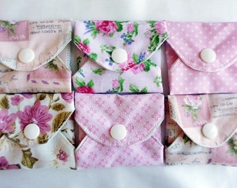 "Reusable cotton pantyliner set ""Silky health"""