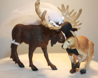 Mix and Match; Animal Cake Topper; Canadian Cake Topper; Australian Cake Topper; Kangaroo; Moose; Funny Bride and Groom; Romantic.