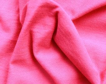 Dark Pink Jersey - 95% Cotton and 5 percent Lycra