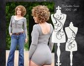 The Road Trip Bodysuit (Women's Sizes) PDF Sewing Pattern