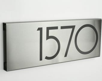 Modern House Numbers Etsy - Contemporary house numbers