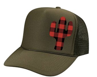 Saguaro Cactus Hat, Cactus Hat, Cactus Dad Hat, Cactus Trucker Hat