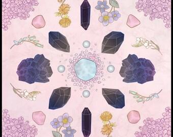 Crystal Grid Limited Edition Art Print