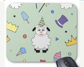 30% OFF Sheep Mousepad - Party Sheep - Mouse Pad