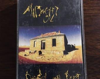 Midnight Oil Diesel And Dust Cassette Tape