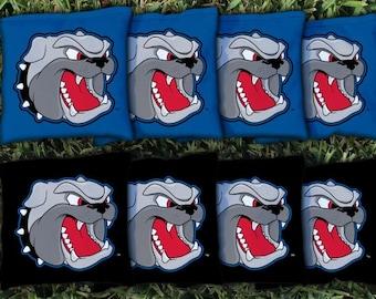 North Carolina Asheville Bulldogs Cornhole Bag Set