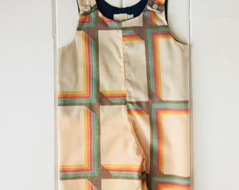 Vintage Enchanted Romper (Shorts, 0-3mths)