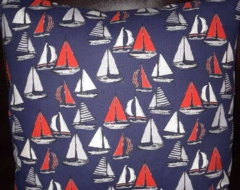 Boats Ahoy is an Envelope Pillow