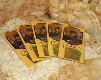 5 Gift Sets -  Authentic Holy Soil from Jerusalem