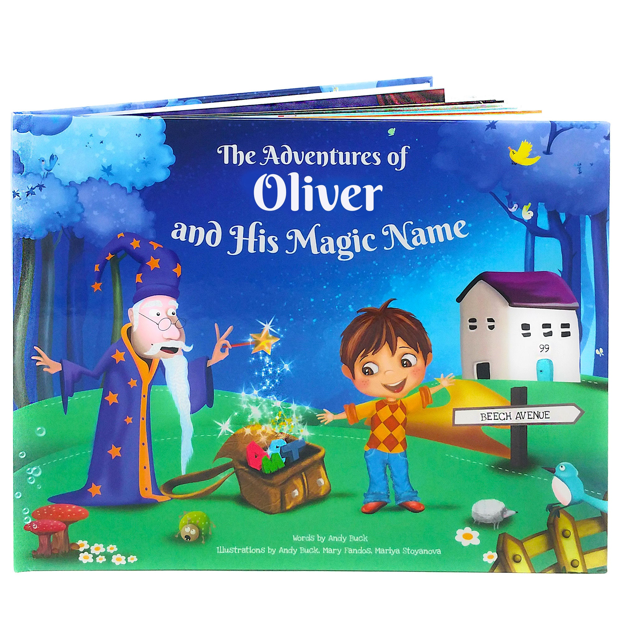 Boy's Birthday Personalised Story Book Great Birthday