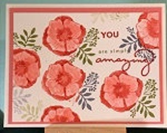 You are simply Amazing Greeting Card