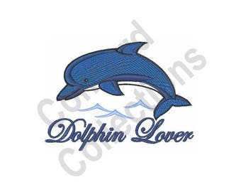 Dolphin Lover - Machine Embroidery Design