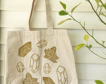 golden crystals tote