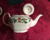 A Cup Of Christmas Teapot