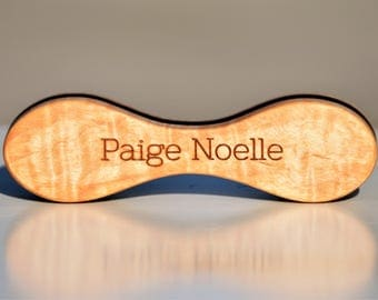 Personalized Wooden Baby Rattles - Baby Toy -