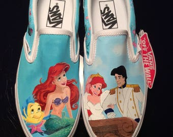 The Little Mermaid Inspired Toms