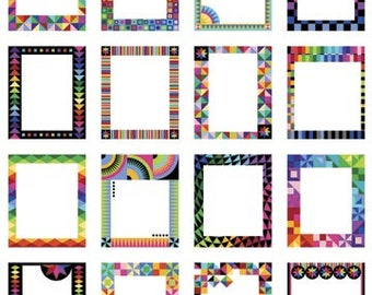 Northcott - Colorwork Concepts - Quilt Label Panel - Fabric by the Panel