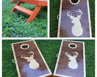 Hunting Cornhole boards, cornhole boards, Toys and Games, Outdoor Recreation, Lawn Games, bean bag toss, Cornhole board, cornhole, corn hole