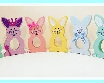 Freestanding Creme Egg Easter Bunny Holders, Easter Egg Holders, Any Colours, Any Color, Easter Bunny, Easter, Rabbit