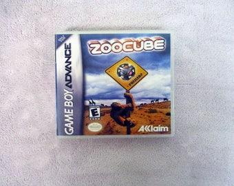 ZooCube Custom GBA Case (***NO GAME***)