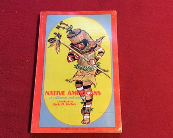 Native Americans of Calif. and Nevada, 1968 Edition