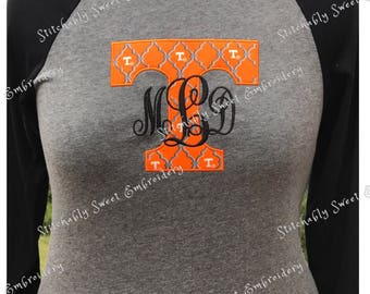 Tennessee VOLS  Applique Shirt