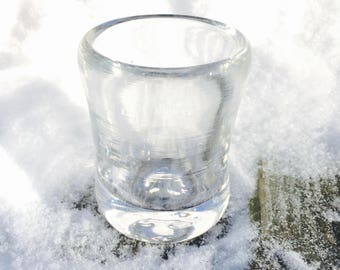 Glass Cup - Volume: 2oz.