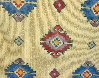 Vintage Twin Flat Sheet, Retro Bedding