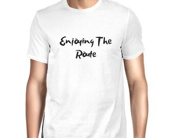 Enjoying The Route T-shirt