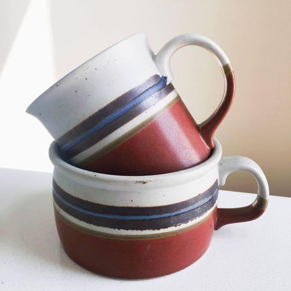 MEG Fatty Vintage Coffee & Latte/Soup Mug Set