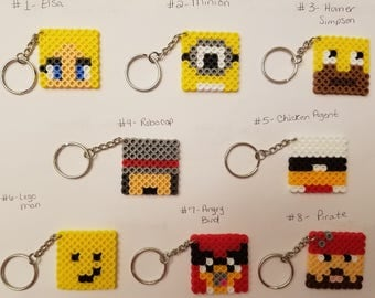 Minecraft Skin party favor pack - You choose 10