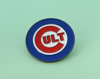 Cult Enamel Pin