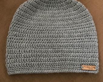 Slouchy Crochet Beanie