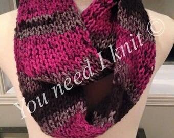 Infinity scarves/ handknit infinity scarf/ infinity scarf/ cozy scarf/ warm scarf/ stylish scarf/ circle scarf/ handmade scarf/ double loop/