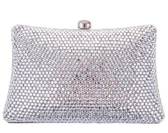 Grace Evening Bag Silver