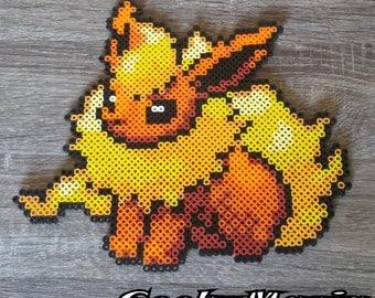 Pokemon - Flameron Perler Beads