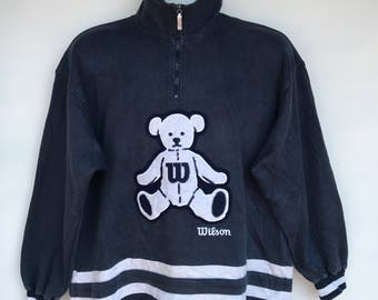 Vintage wilson bear sweatshirt