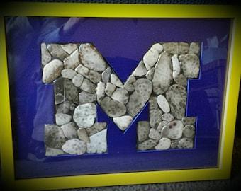 Petoskey stone U of M