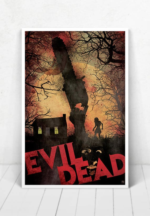 The Evil Dead - Illustration [The Evil Dead Movie Poster / The Evil Dead]