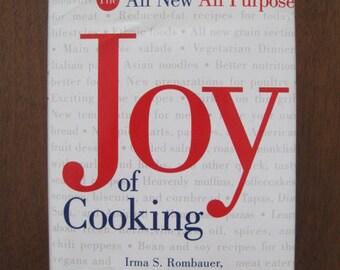 Joy of Cooking, Cookbook, Irma Rombauer, Vintage