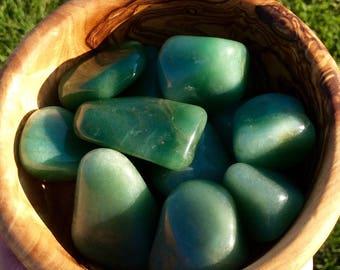 Tumbled Green Aventurine Crystal Gemstone