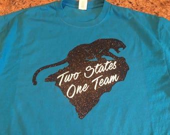 Panthers fun saying tshirt. Football inspired. Panther football tshirt