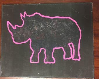 Rhino Skin Print
