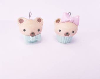 Kawaii Cupcake Charms