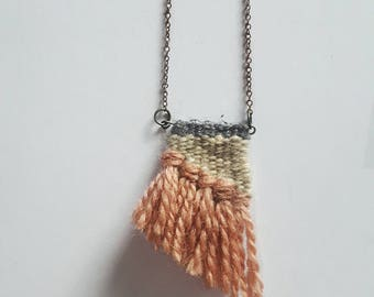 Wedge Weave Necklace