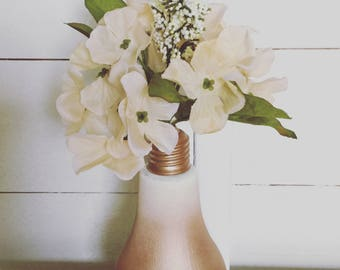 Lightbulb ombré vase, small home decoration, decor, gift