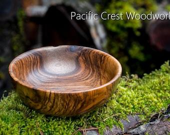 Black Walnut Bowl, turned bowl,