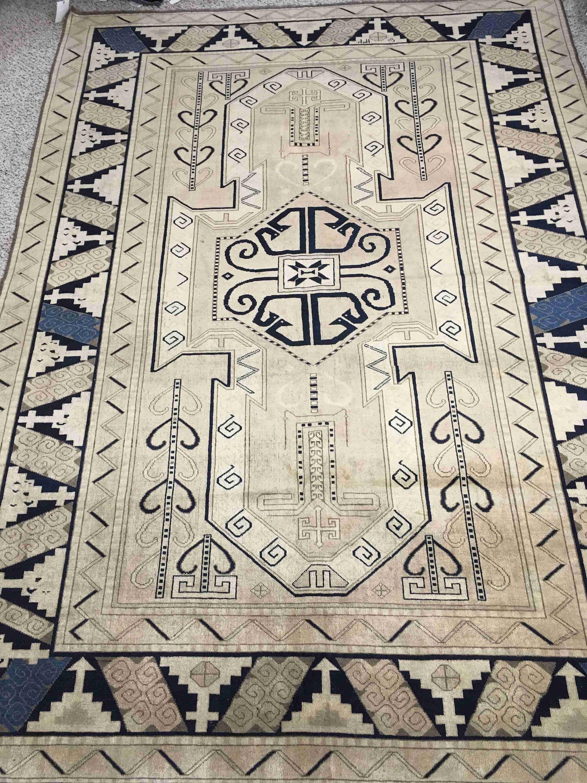 Vintage Turkmani Tribal Rug | 100% Handmade Floor Carpets Sale | For ...