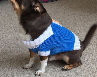 Preppy dog jumper